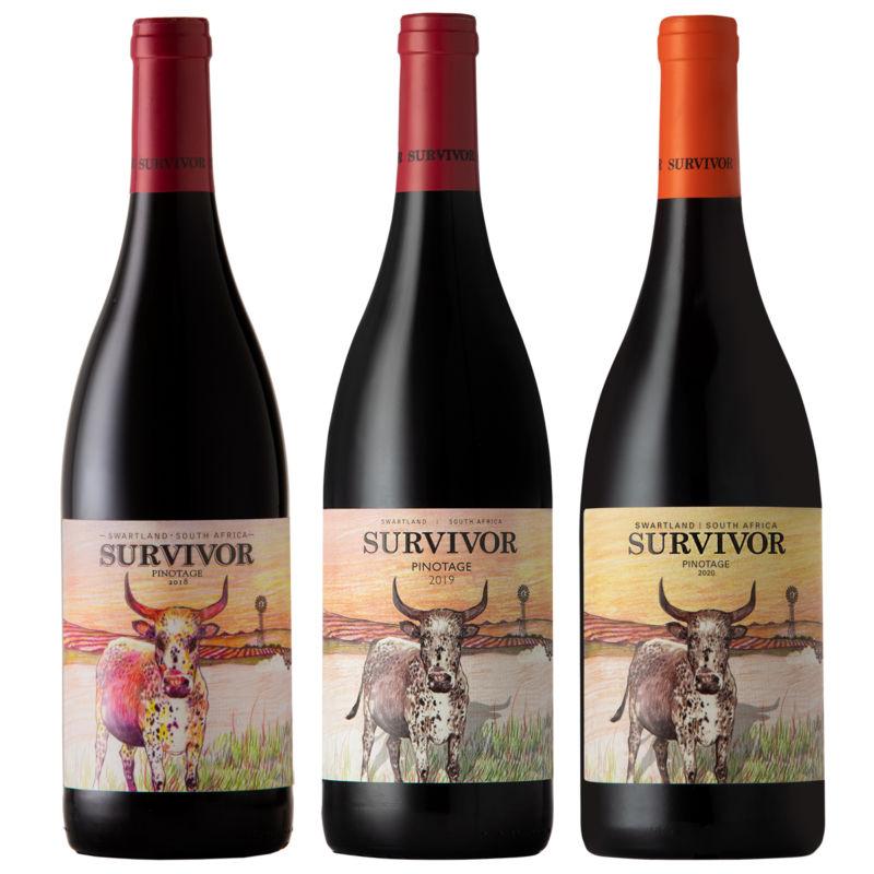 Survivor Pinotage Vertical Pack